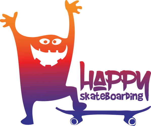 Happy-Skateboarding